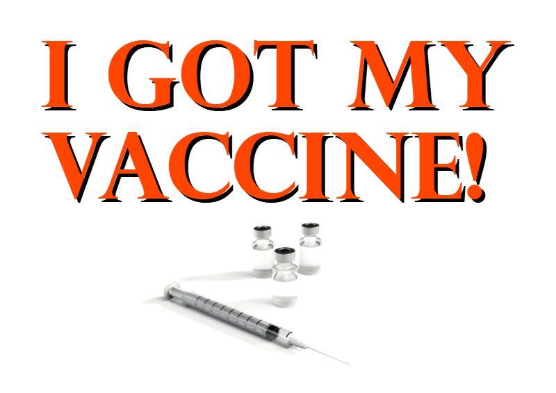 Ich wurde geimpft